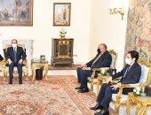 أخبار مصر.. الرئيس السيسي يؤكد تطلع مصر لتطوير العلاقات المستقبلية مع الاتحاد الأوروبى