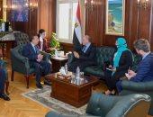 محافظ الإسكندرية يبحث مع سفير أستراليا بالقاهرة تعزيز مجالات التعاون الثنائى