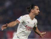 إبراهيموفيتش يسجل رقما قياسيا في الدوري الإيطالي