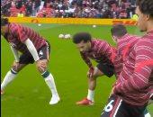 ليفربول يؤكد جاهزية محمد صلاح أمام مانشستر يونايتد بصورة: تركيز ملكي