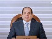الرئيس السيسي: علينا إعلاء قيم التعاون والمشاركة خلال إدارة ملف المياه