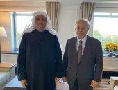 أمين عام رابطة العالم الإسلامي ورئيس هيئة علماء المسلمين يلتقى مندوب السعودية بالأمم المتحدة