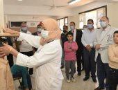 محافظ أسيوط يتابع عمل المبادرة الرئاسية للكشف عن أمراض السمنة وقصر القامة