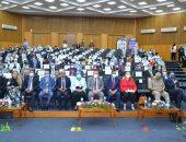 رئيس جامعة الإسكندرية يفتتح المؤتمر الدولي للمستجدات والابتكارات الطبية
