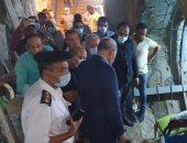 محافظ القليوبية يتابع المشروعات الجاري تنفيذها بحي غرب شبرا الخيمه والطريق الدائري
