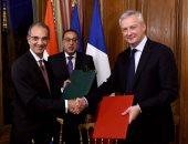 رئيس الوزراء يلتقى وزير الاقتصاد والمالية الفرنسى..صور
