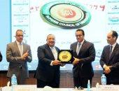 المجلس الأعلى للجامعات يكرم الدكتور ماجد نجم رئيس جامعة حلوان السابق