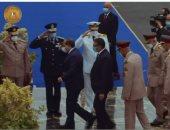 الرئيس السيسي يصل الكلية الحربية لحضور حفل تخرج دفعة جديدة من الكليات العسكرية