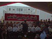 أبطال مصر الحاصلون على ميداليات أوليمبية وبارالمبية يحضرون حفل الكلية الحربية