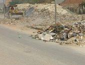 نظافة القاهرة ترفع مخلفات الهدم التاريخية بمحاور وطرق العاصمة