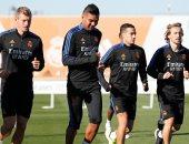 """بدون راحة.. ريال مدريد يستعد لمواجهة أوساسونا بعد حسم الكلاسيكو """"صور"""""""
