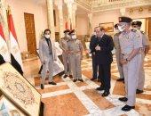الرئيس السيسى يتابع موقف مشروعات الهيئة الهندسية على مستوى الجمهورية