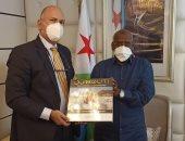 السفير المصرى يؤكد لرئيس وزراء جيبوتى انفتاح القاهرة على التعاون بمجالى الصحة والطاقة