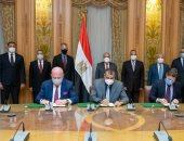 وزير الإنتاج الحربى يشهد توقيع اتفاقية لتصميم محطات معالجة وتحلية المياه
