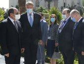 الرئيس السيسي: علاقات سياسية متميزة تجمع بين مصر ورومانيا