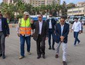 محافظ الإسكندرية يتفقد معدات شركة الصرف الصحي لمجابهة نوات الأمطار