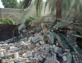 إزالة 33 حالة تعدى على الترع والمجارى المائية بمساحة 6058 مترا مربعا بمدينة إسنا
