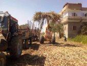 تحرير 153 محضر مخالفة بيئية لحرق المخلفات الزراعية بسوهاج.. صور