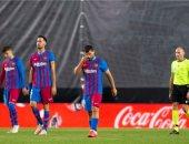 برشلونة يواصل عروضه الضعيفة ويسقط أمام رايو فاليكانو فى الدوري الإسباني