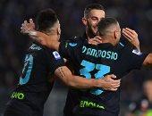 إنتر ميلان يتقدم 1-0 على إمبولي في الشوط الأول بالدوري الإيطالي