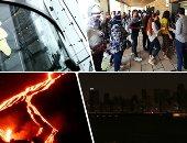 """العالم هذا المساء.. دخول الأهرامات عبر """"ماكينات الدفع الإلكترونى"""" لأول مرة.. انقطاع الكهرباء عن 600 ألف منزل فى الولايات المتحدة.. وارتفاع سطح أرض لابالما 10 سنتيمترات خلال 24 ساعة بسبب البركان.. فيديو وصور"""