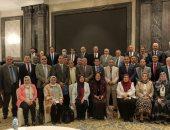 أعضاء مجلس جامعة الأزهر يتوافدون على العاصمة الإدارية الجديدة.. صور