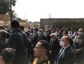 بث مباشر.. جنازة المستشار أحمد الشاذلى نائب رئيس مجلس الدولة فى الغربية