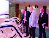 """""""رئيس المنطقة الاقتصادية"""" يزور الجناح المصري في إكسبو دبي"""