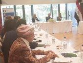 سفير مصر بألمانيا يستعرض جهود مصر فى تحقيق الاستقرار والسلام بالمنطقة