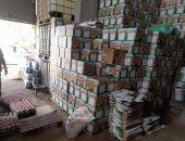 ضبط 3600 عبوة خل مغشوش فى حملة تموينية على الأسواق بالغربية