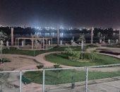 سحر وجمال كورنيش بنى سويف الجديد ليلا قبل افتتاحه رسميا.. فيديو وصور