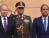 السيسى: اتفقت مع بوتين على اقامة منطقة روسية صناعية بعتاقة
