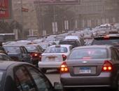 فيديو.. كثافات مرورية وزحام أعلى كوبرى 6 أكتوبر اتجاه مدينة نصر