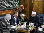 سفير إيطاليا لمفتى الجمهورية: مصر محور الاستقرار بالمنطقة ويجب دعمها
