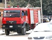 حريق هائل يلتهم 9 منازل فى أرمنت غرب الأقصر
