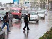 أمطار غزيرة فى الشرقية وتحول الشوارع إلى برك من المياه
