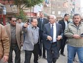 محافظ القاهرة يأمر بهدم أحد مبانى مستشفى حلوان الجديد