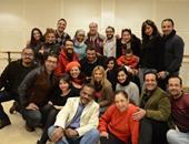 بالصور.. خالد جلال يحتفل مع نجوم خريجى مركز الإبداع الفنى بعيد الحب