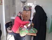 الكشف الطبى وصرف العلاج  لـ 1524 من أهالي 3 قرى فى قوافل طبية بنجع حمادى