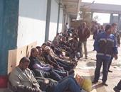 إضراب عمال النظافة بدمنهور للمطالبة بتحسين أوضاعهم الوظيفية