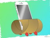 """خطوات تحويل بكرة ورق """"التواليت"""" الفارغة إلى مكبر صوت للموبايل"""