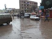 رياح شديدة وسقوط أمطار بمحافظة دمياط