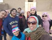 """بالصور.. """"تعالوا نعرف مصر"""" فى رحلة تعريفية بآثار سقارة"""