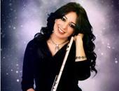 رانيا يحيى فراشة الفلوت تحيى حفلا فنيا بالأوبرا اليوم بمشاركة نجليها