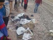 مصرع عامل صدمه قطار أثناء عبوره شريط السكة الحديد بالمنوفية