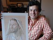 """فريد فاضل يهدى لوحات معرضه """"الأم والطفل"""" المقبل لأمهات الشهداء"""