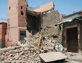 مصرع ربة منزل فى انهيار عقار شارع المحطة بالجيزة