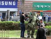 تفكيك عبوة هيكلية زرعها إرهابيون أمام مركز شرطة البلينا بسوهاج
