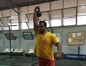 مصطفى الجمل يحقق المركز السابع فى منافسات المطرقة ببطولة العالم