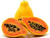 قليلة لكن مفيدة..فاكهة البابايا تحتوى على إنزيمات وفيتامينات تمنع الأمراض